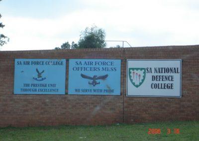 SA National Defense College