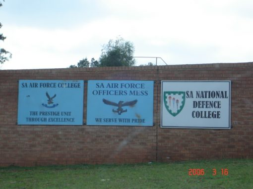SA National Defense College